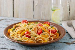 Italian style pasta with chicken