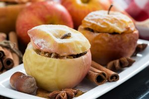 dried apples in fruits image