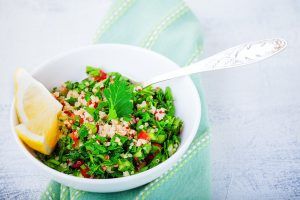 submersible quinoa salad