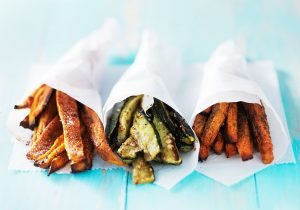 vegetable or antipasti fries